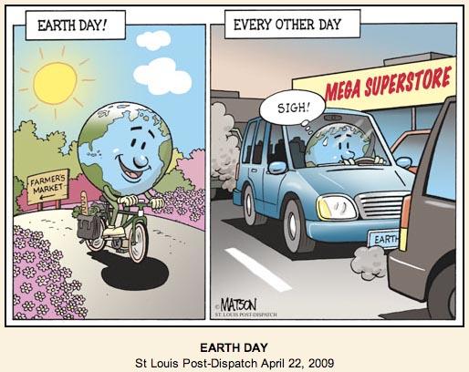 ehejojinud: earth day cartoon