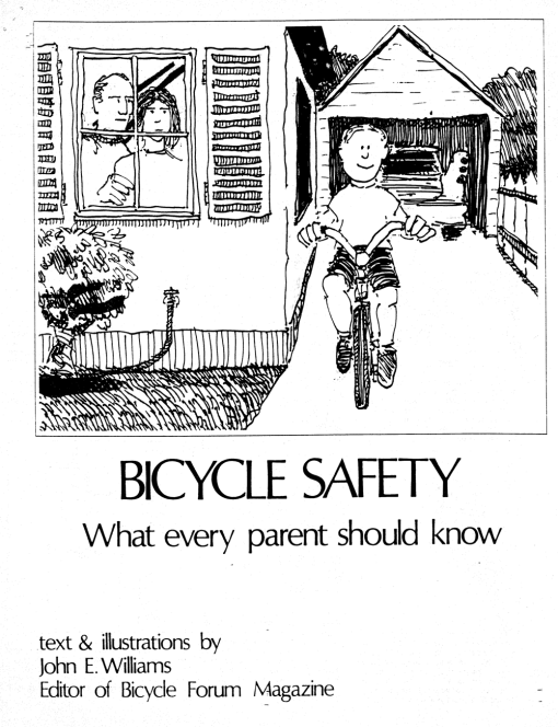 BICYCLE SAFETY cover